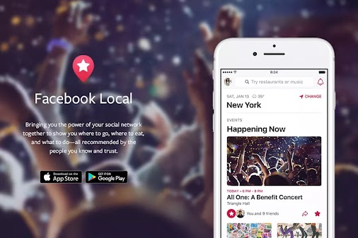 Facebook Relaunches Events App Called As Local  #Facebook #Facebooklocal #event #eventapp #localapp ...