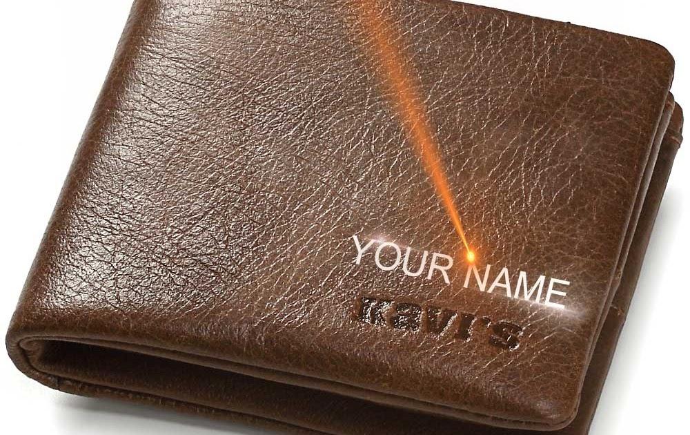 0e41f5a99 Comprar KAVIS Hombres Cartera De Cuero Genuino Pequeño Mini Moneda Monedero  Hombre Cuzdan Portomonee Grabado Y Titular La Tarjeta Nombre Online Baratos  ...