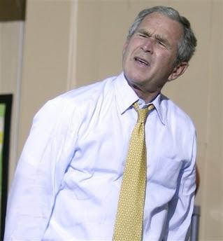 Bush & the basketball game of doom, 6.16.08   7