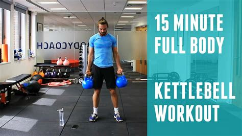full body kettlebell workout  body coach youtube