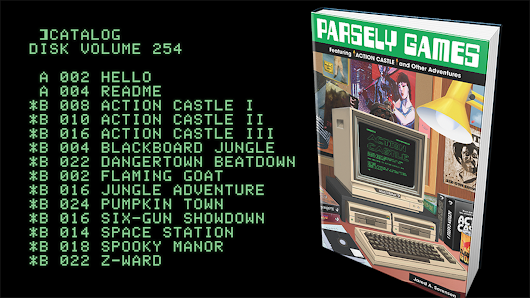 Parsely Games: ACTION CASTLE plus 11 more games