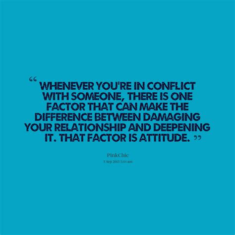 Famous Quotes Conflict Resolution