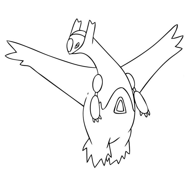 Coloriage A Imprimer Pokemon Latias Gratuit Et Colorier