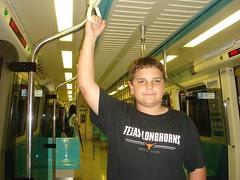 Sam on MRT