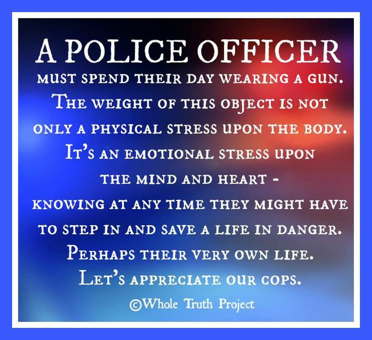Quotes About Police Officers 110 Quotes