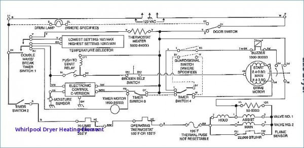 Kenmore Elite Dryer Wiring Diagram