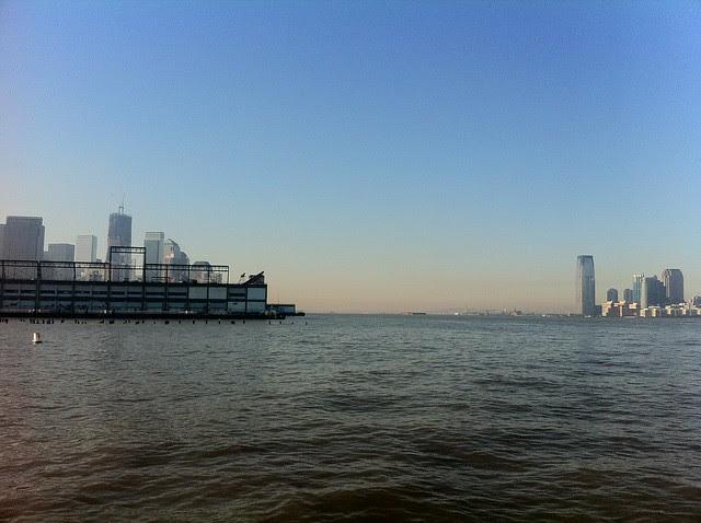 Hudson River from Pier 45