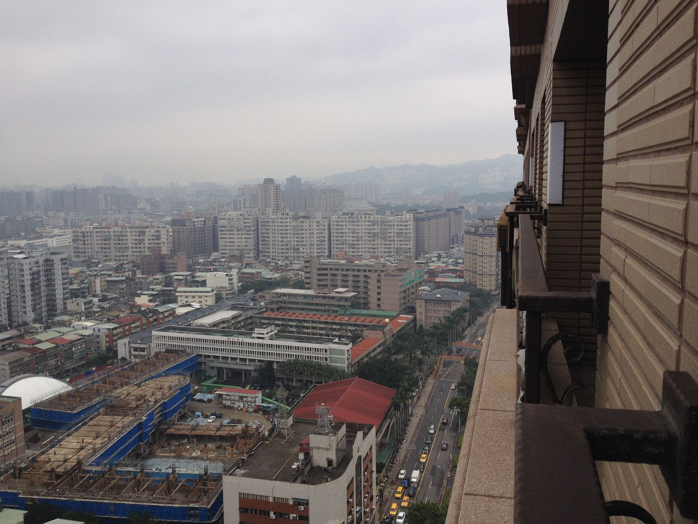 View from Michael's Aunt's Place in Taipei