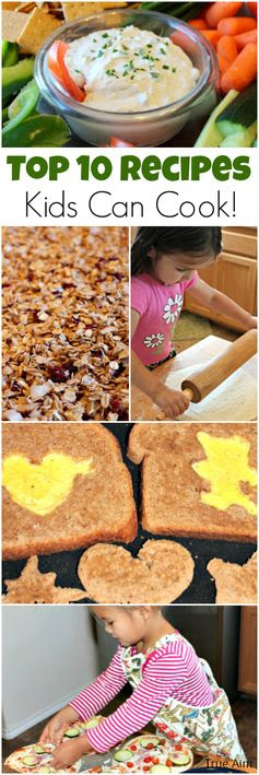 Top 10 Recipes for Kids to Cook - Easy Delicious!