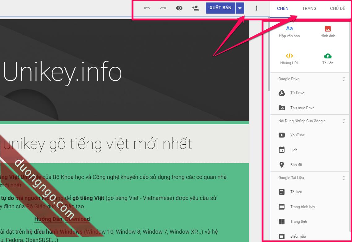 New-Google-Sites
