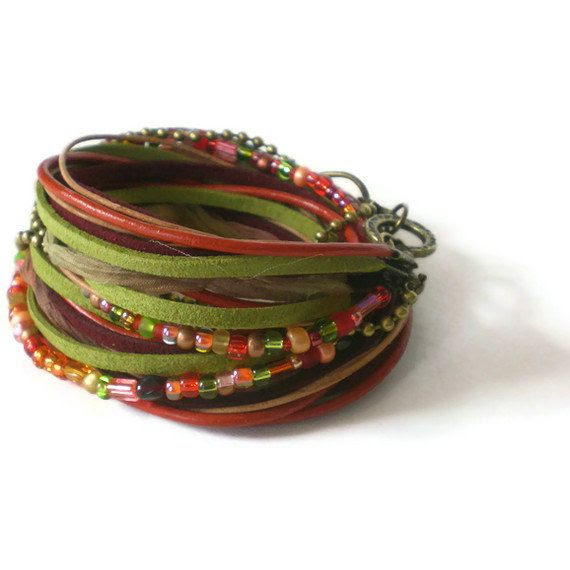 earth tones  by Jeanie on Etsy