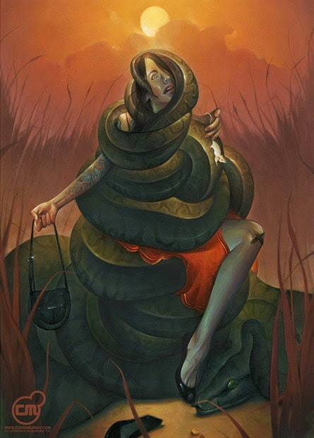 Cindy Slithers Original Painting