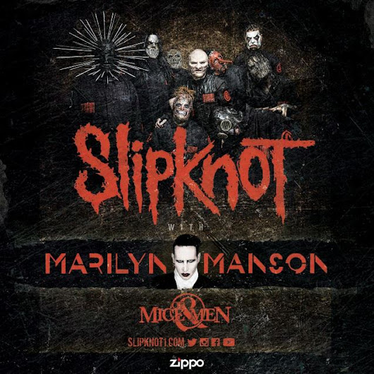 SLIPKNOT Announces Colossal North American Headline Tour With MARILYN MANSON And OF MICE & MEN | YouRocks.Top
