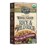 Lundberg Organic Whole Grain Rice & Wild Rice Wild Porcini Mushroom