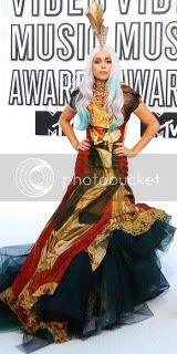 Celebrities,Fashion Styles,Lady Gaga,Alexander McQueen,Marchesa,Dolce and Gabbana,Giambattista Valli,Gucci,Miu Miu,Givenchy,Emilio Pucci