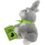 Simply Genius Storytelling Peter Rabbit Plush Toy Talking Moving Animated Stuffed Animal Toy Doll Holiday Christmas Gift Décor & Decorations, Rabbit