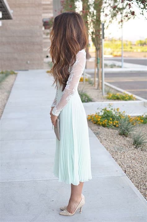 Perfect Wedding Guest Dress   Minty Lace in 2019   J