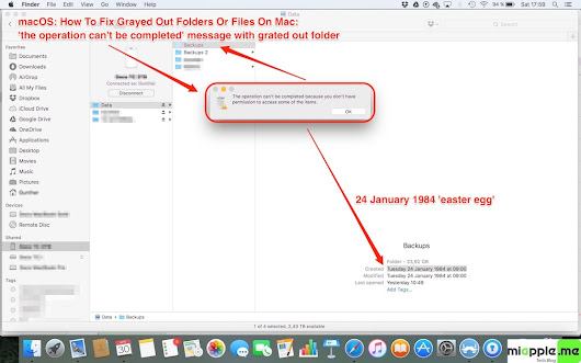 macOS: How To Fix Grayed Out Folders Or Files On Mac