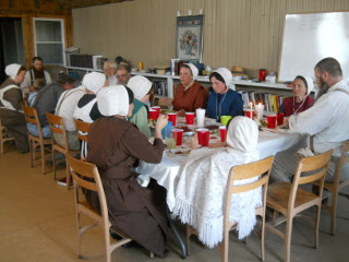 During the Passover Meal