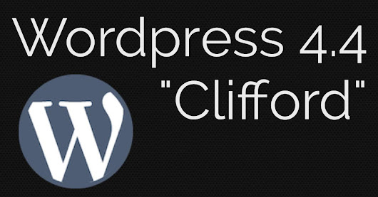 Wordpress 4.4 update with responsive images, better embeds