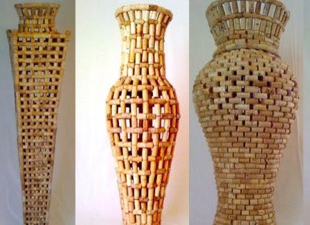 reciclar-tapones-de-corcho-jarrones