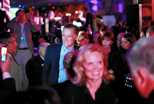 Mitt Romney suggests a broader campaign, if he runs in 2016