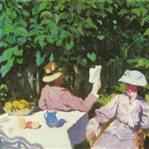 Morning Sunshine - Karoly Ferenczy