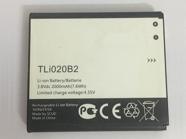 LAPTOP-BATTERIE Alcatel TLi020B2