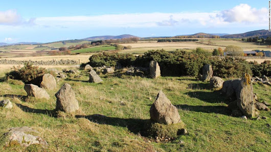 'Ancient' stone circle in Scotland turns out to be a 1990s replica