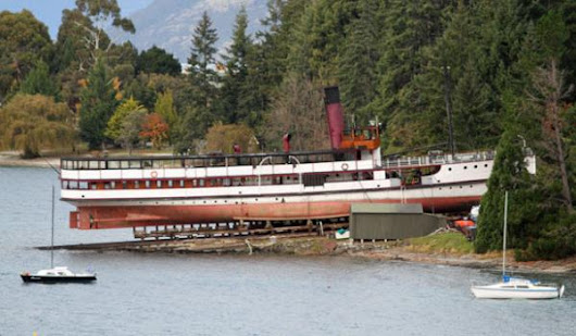 The Historic Lady Of The Lake: Queenstown's TSS Earnslaw