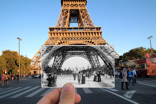 Paris' past and present meet in drop dead gorgeous photographs
