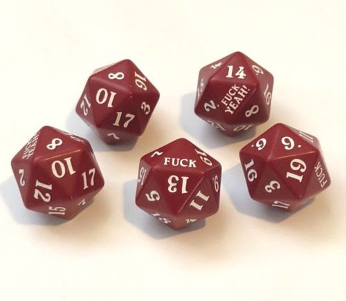 F*ck yeah! dice are a sell out