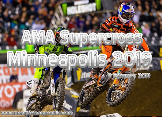 AMA Supercross Minneapolis 2019 Live Online