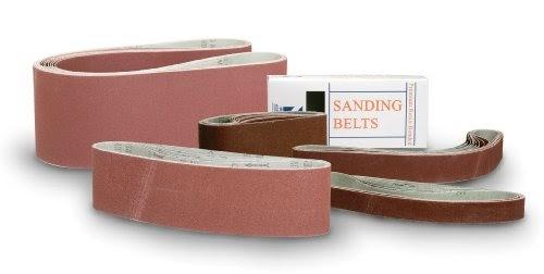 Sanding Belts 4 X 21-3//4 Zirconia Cloth Sander Belts 6 Pack, 40 Grit