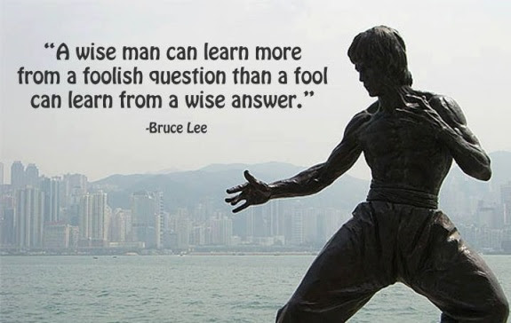 A Wise Man Can Learn More From A Foolish Question Than A Fool