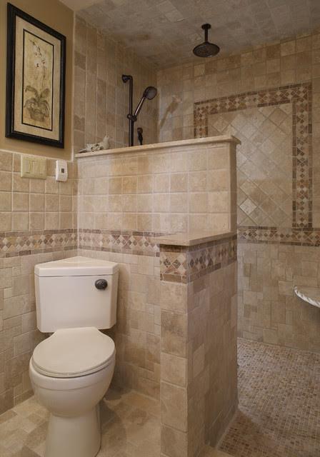 Walk in Shower - Mediterranean - Bathroom - Other - by ...