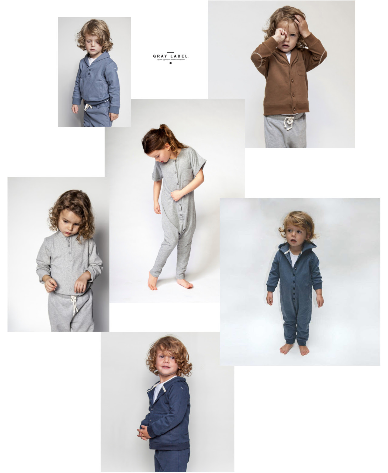It's like honey to a bee, this dutch label and its effortless, basic collection.  Gray label clearly appreciates many of the same things as we do at Kidproof. Quality basics, soft fabrics, easy to wear styles in toned town shades.  Can't wait to receive our first tryouts soon!