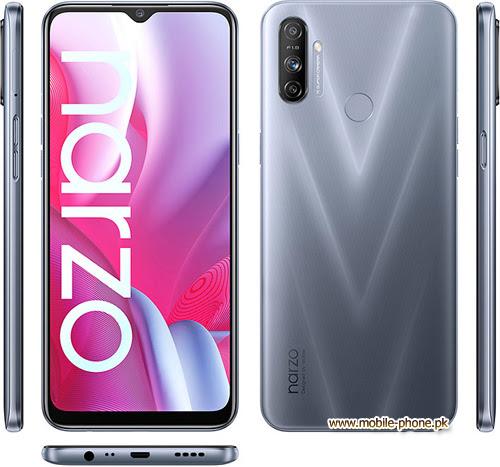 Realme Narzo 20A Mobile Pictures - mobile-phone.pk