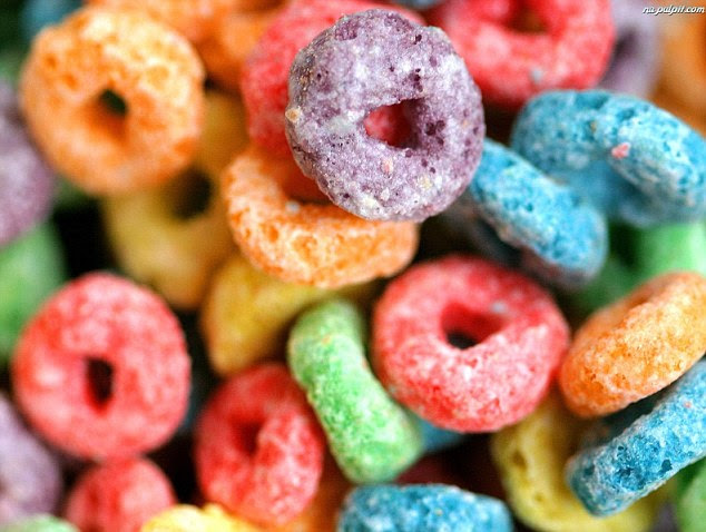 Petroleum Loops: fruit loops are delicious - and made from a product that's made out of the same stuff that makes gasoline