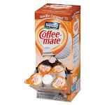 Liquid Coffee Creamer, Vanilla Caramel, 0.38 oz Mini Cups, 50/Box, 4 Boxes/Carton, 200 Total/Carton