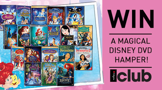 Win a magical Disney DVD Hamper!