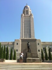 Steve @ The Nebraska Capitol #2