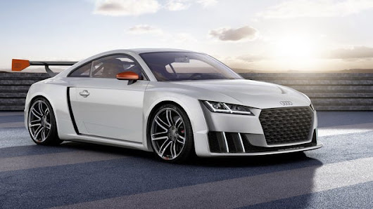 This Insane Audi TT Has 600 HP And A Freaking Gated Manual