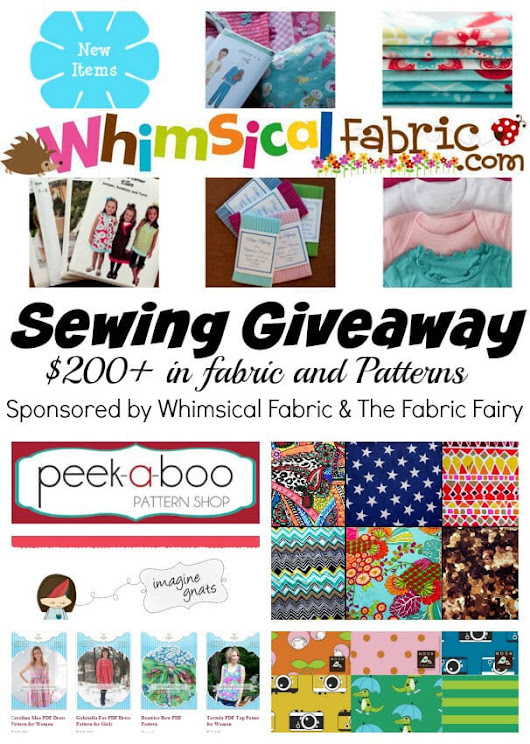 Sewing Themed Giveaway - Nap-time Creations