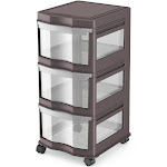 Life Story Classic Gray 3 Shelf Storage Container Organizer Plastic Drawers at Spreetail (VMinnovations | VM Express)