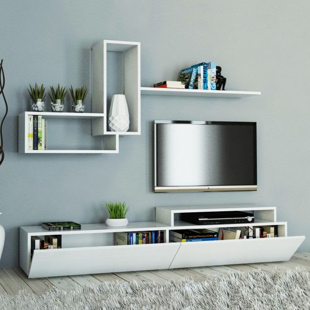 evdekimoda dekor tv unitesi 1500x1500 1 634x634 15 Amazing TV Units that Demonstrate Stylish Trends