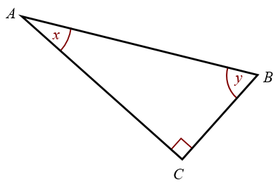 How To Find The Opposite Side Of A Triangle With An Angle