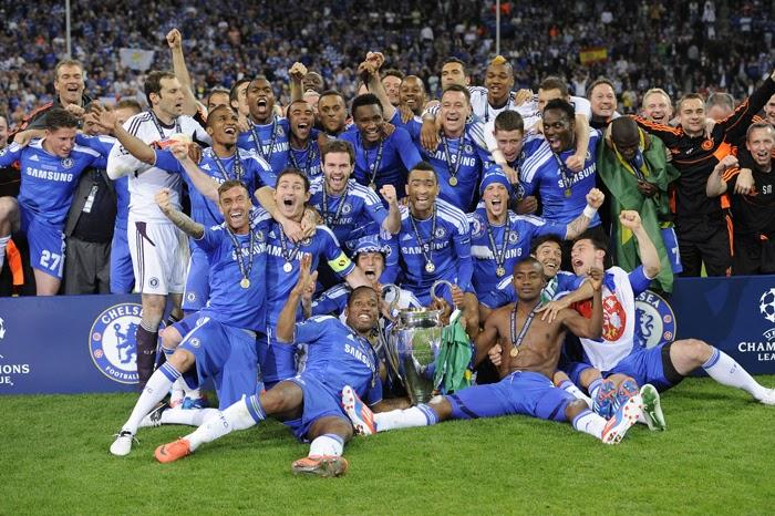 Kumpulan Foto Chelsea Juara Liga Champion