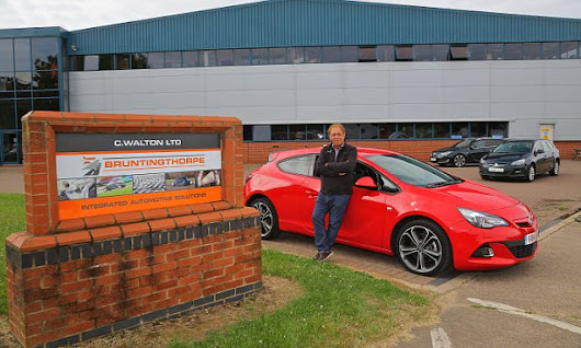 We meet the coach who uses Vauxhall Astras to train racing drivers
