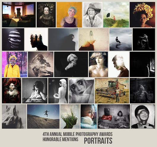 Portaits 2014 MPA Results - Mobile Photography Awards